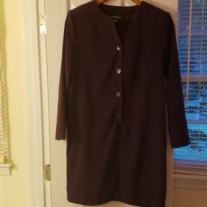 Positiveattitude plum dress